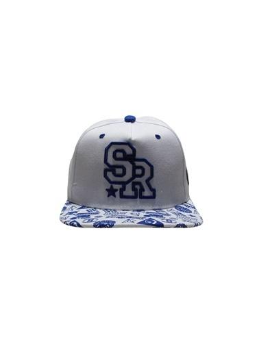 Laslusa SR Hip Hop Snapback Şapka Beyaz